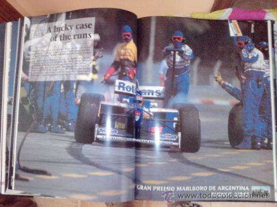 Coches: LIBRO FORMULA 1 YEARBOOK 1997-1998-FORWORD BY OLIVER PANIS -FORMATO GRANDE-INGLES - Foto 5 - 33694398